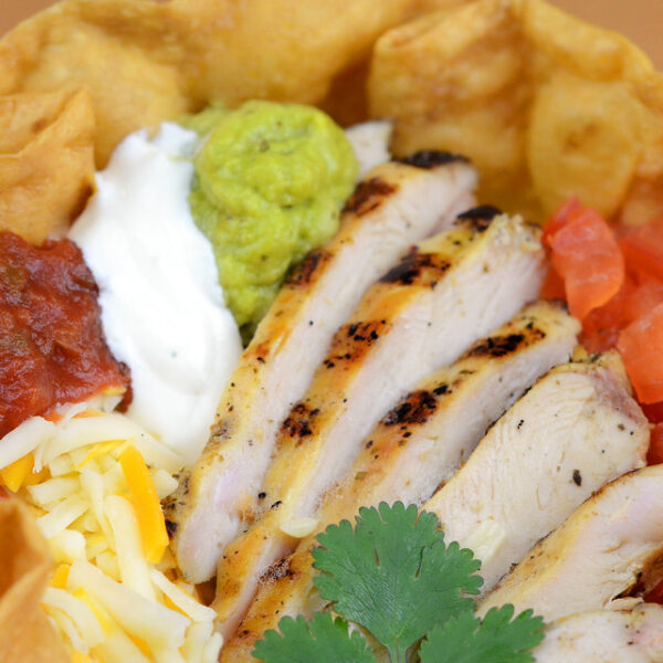 Taco Salad with Chicken or Steak