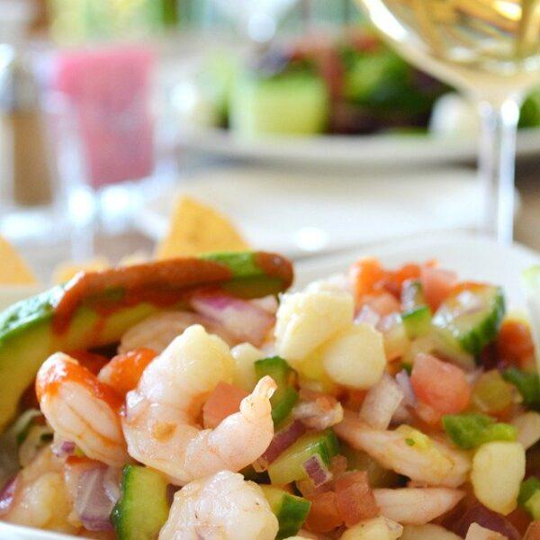 Ceviche (shrimp)